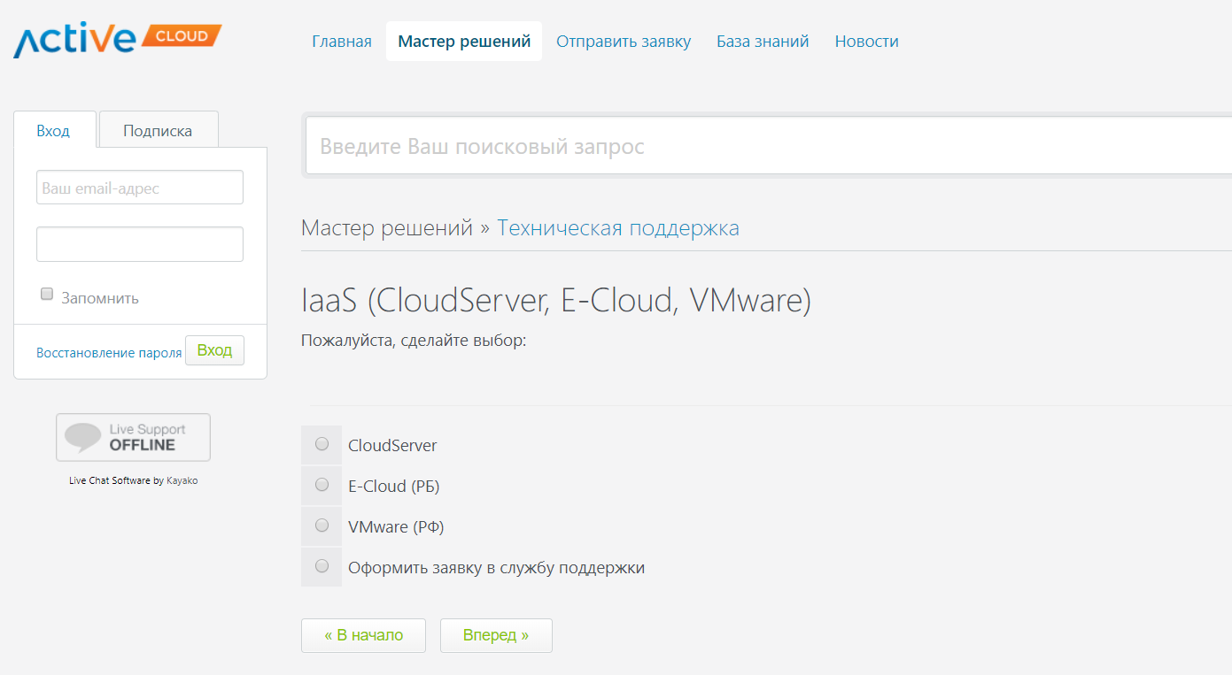 база знаний ActiveCloud4